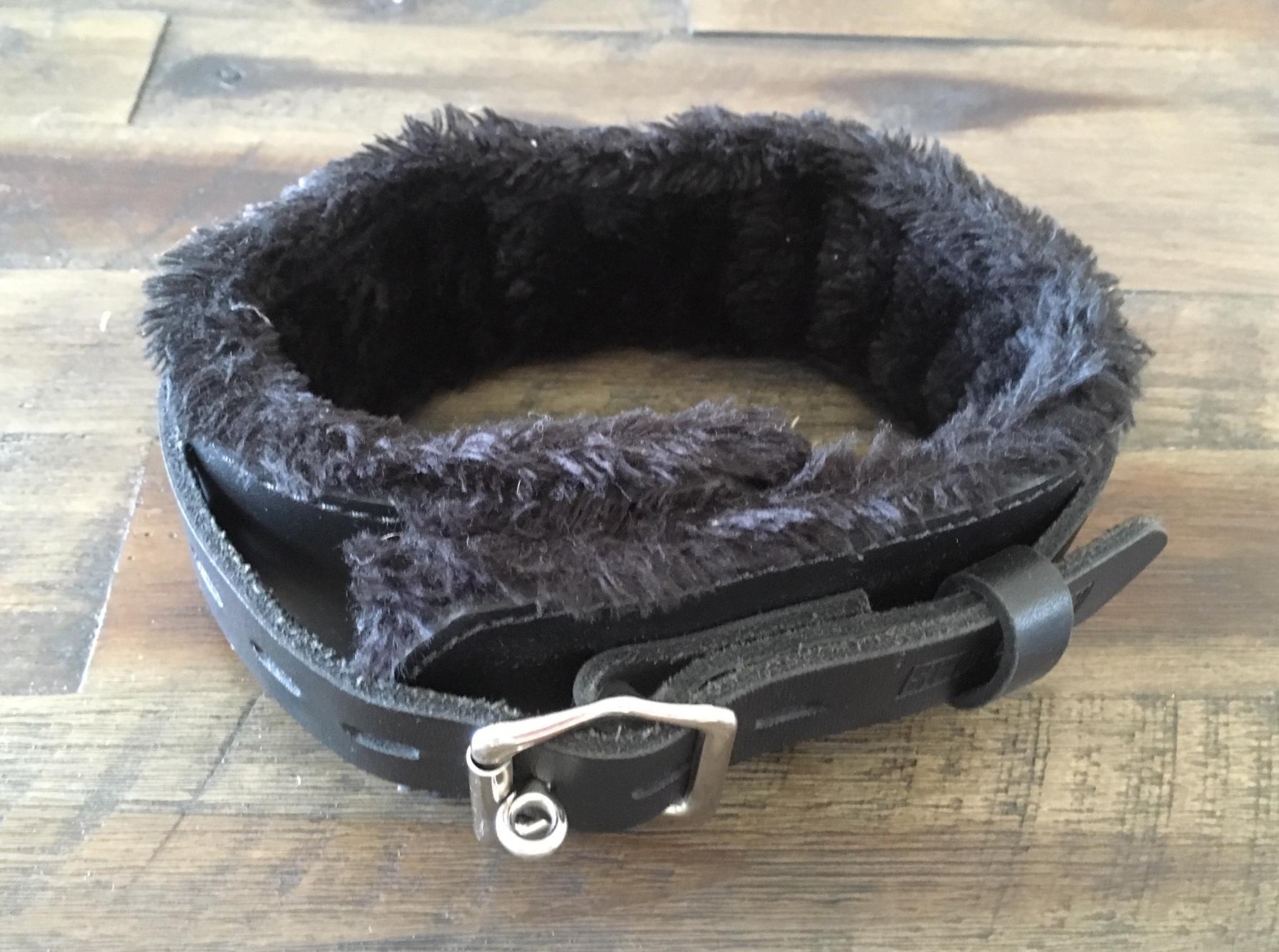 Black Leather Collar Image